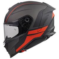 ファースト ハイパー DE 17 BM ヘルメット オレンジ