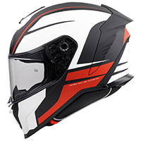 Premier Hyper De 92 Bm Helmet White Orange