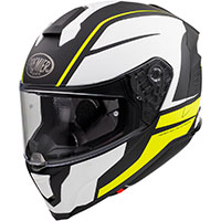 プレミア ハイパー DE Y 9 BM ヘルメット ホワイトイエロー