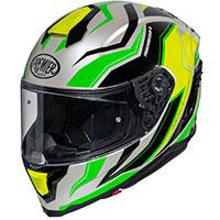 プレミア ハイパー RW 6 ヘルメット グリーン イエロー
