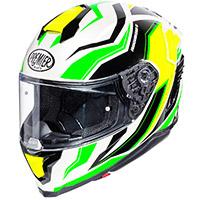 Casco Premier Hyper Rw 6 Verde Giallo