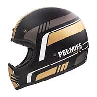 Casco Premier Mx Bl 19 Bm Oro