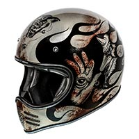 Premier Mx Bd Titanium 2019 Full Face Helmet