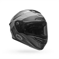 Casque Cloche Race Star Flex Gris Brossé