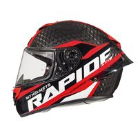 Mt Helmets Rapide Pro Carbon C5 Black Red