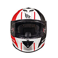Mt Helmets Rapide Duel D1 Kid White Red Kinder