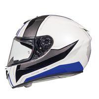 Mt Helmets Rapide Duel D5 White Blue