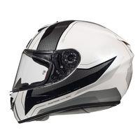 Mt Helmets Rapide Duel D7 White Silver