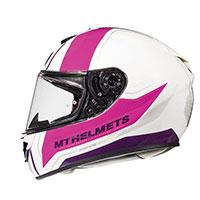 Mt Helmets Rapide Duel H9 Kid White Pink Kid