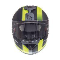 Mt Helmets Rapide Overtake B3 Matt Fluor Yellow