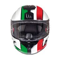 Mt Helmets Rapide Overtake D2 Red Green