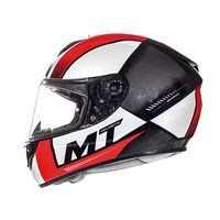 Mt Helmets Rapide Overtake D3 Red Blue