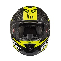 Mt Helmets Rapide Pro Carbon C4 Kid Black Yellow Kinder