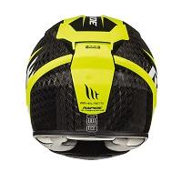 Mt Helmets Rapide Pro Carbon C4 Kind schwarz gelb - 3