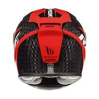 Mt Helmets Rapide Pro Carbon C5 Kind schwarz rot - 3