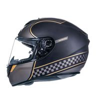 Mt Helmets Rapide Revival A1 Matt Black