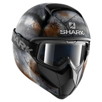 Shark Vancore Flare Black Grey Orange