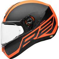Schuberth R2 Traction Orange
