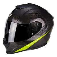 Scorpion Exo-1400 Air Carbon Pure Giallo Fluo
