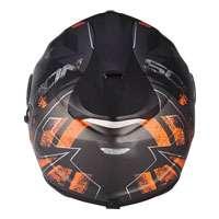 Scorpion Exo-1400 Air picta Matt Silber Orange - 4