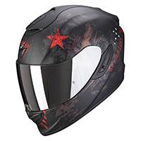 Casco Scorpion Exo 1400 Air Asio Nero Rosso