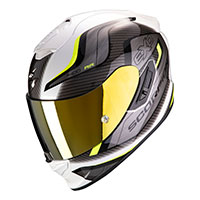 Scorpion Exo 1400 Air Attune Helmet Yellow White
