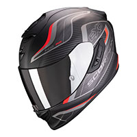 Scorpion Exo 1400 Air Attune Helmet Red Black