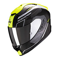 Casco Scorpion Exo 1400 Carbon Air Beaux Giallo