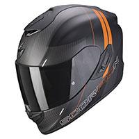 Casco Scorpion Exo 1400 Carbon Air Drik Arancio