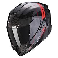 Casco Scorpion Exo 1400 Carbon Air Drik Rosso