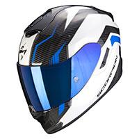 Casco Scorpion Exo 1400 Air Fortuna Bianco Blu