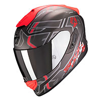 Casco Scorpion Exo 1400 Air Spatium Rosso