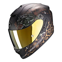 Casco Scorpion Exo 1400 Air Toa Nero Opaco Oro