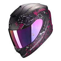 Casco Scorpion Exo 1400 Air Toa Nero Rosa
