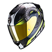Casco Scorpion Exo 1400 Air Torque Giallo Fluo