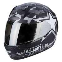 Scorpion Exo-390 Army Matt Black Silver
