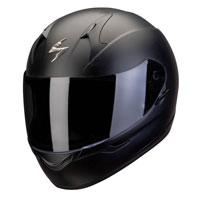 Scorpion Exo-390 Solid Matt Black Lady