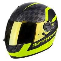 Scorpion Exo-490 Genesi Matt Black Fluo Yellow