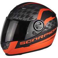Scorpion Exo-490 Genesi Matt Black Red