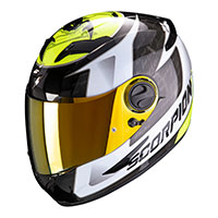 Casco Scorpion Exo 490 Tour Nero Giallo