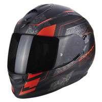 Scorpion Exo-510 Air Galva Matt Black Neon Red