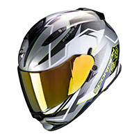 Casco Scorpion Exo-510 Air Balt Giallo Argento