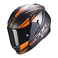 Casco Scorpion Exo-510 Air Ferrum Arancio Nero