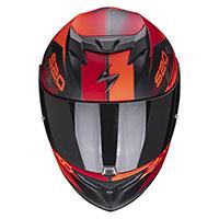Casco Scorpion Exo 520 Air Cover Nero Rosso