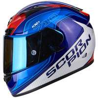 Scorpion Exo-710 Air Mugello Blu Rosso