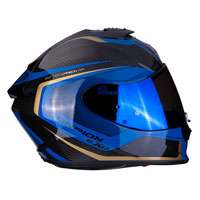 Casco Moto Scorpion Exo 1400 Air Carbon Esprit Blu
