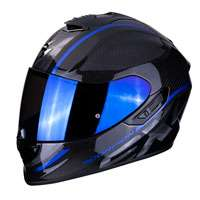 Casco Moto Scorpion Exo 1400 Air Carbon Grand Blu