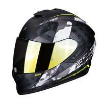 Casco Integrale Scorpion Exo 1400 Air Sylex Bianco Opaco