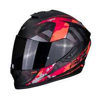 Casco Integrale Scorpion Exo 1400 Air Sylex Rosso Opaco