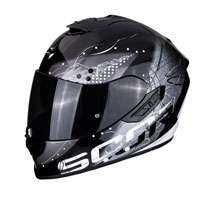 Casco Integrale Scorpion Exo 1400 Air Classy Nero Donna